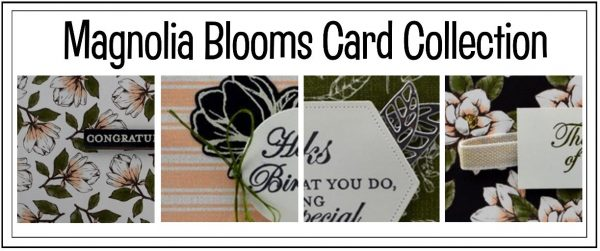 Magnolia Blooms Card Collection