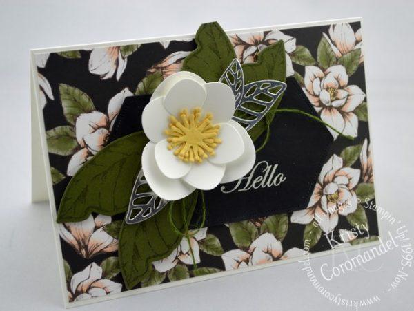 Magnolia Blooms - Hello 3