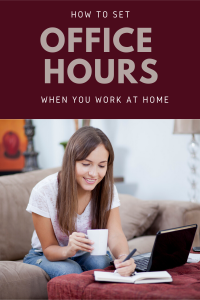 How to Set Office Hours When Working From Home