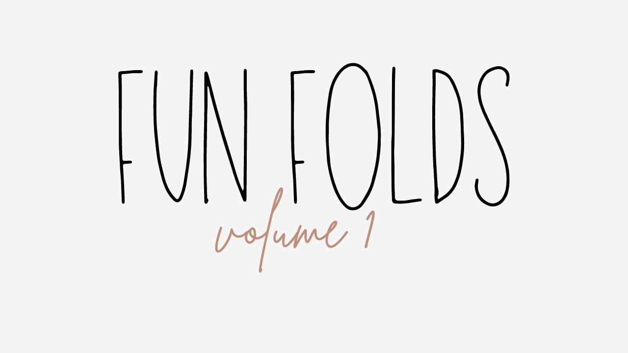 Fun Folds online Class